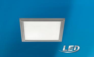 LED Panel grau 30x30 cm 2100 Lumen 4000 k 16 Watt  Eglo dimmbar 97636  – Bild 1