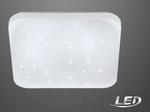 LED Deckenlampe Sternenhimmel Sparkle Leuchte Lampe  eckig Eglo 75472 001