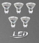 5 Stück Leuchtmittel GU10 LED SPOT SMD 3W 200lm 3000K 3STK Eglo 10699-5 001