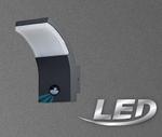 Näve LED Aussenlampe Aussenleuchte anthrazit Bewegungsmelder Sensor 1226197 001