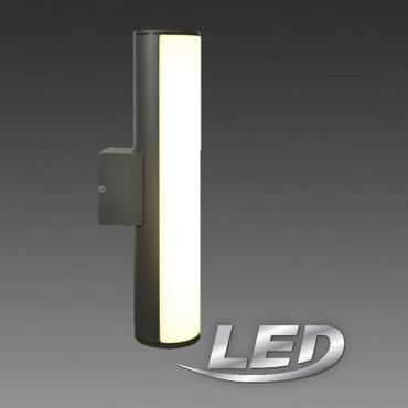 Näve LED Aussenlampe Aussenleuchte anthrazit Lampe Leuchte 1161997