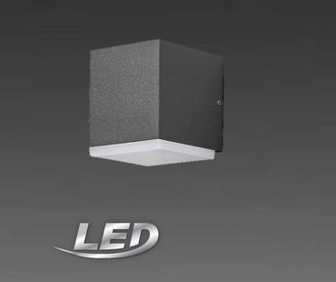 LED KonstSmide 7990-370 Lampe Leuchte Aussenleuchte Wandleuchte Anthrazit