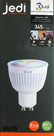 JEDI Lighting LED EEK A (A++ - E) GU10 Reflektorform 6,5 W Leuchtmittel RGBW