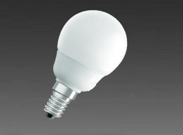 Osram Energiesparlampe Duluxstar Mini Globe  6W E14 230 Lumen warmweiß 2500K