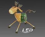 LED Solarleuchte Lampe Leuchte Dekoleuchte Solar Standleuchte Solar Eglo 47802 001
