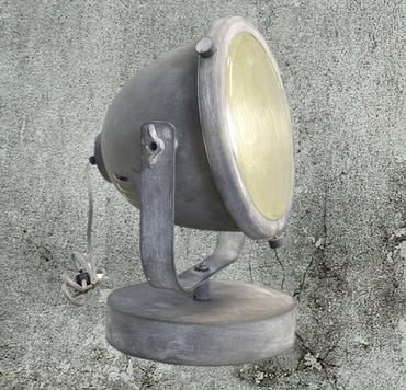Brilliant Beton Retro  Tischleuchte Tischleuchte Beton Optik Grau Leuchte 94928/70