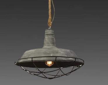 Brilliant Lampe Pendellampe Pendelleuchte Pendel Leuchte Beton Optik 93614/70