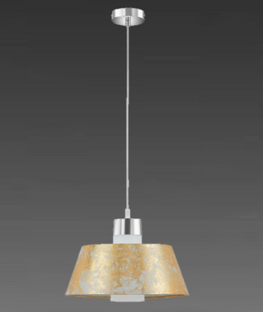 Briloner Pendellampe Pendel Hängelampe Golden  Lampe Leuchte 4714-017