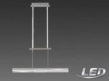 Briloner LED Deckenleuchte Pendellampe Pendel Glas Höhenverstellbar Lampe Leuchte 4336-012