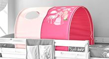 Tunnel für Hoch- und Etagenbetten  Horse (pink)