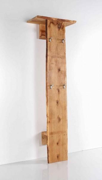 Garderobe Multigarderobe Flurmoebel Woodline Eiche massiv geölt  B60 H190 T32