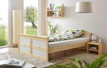 Doppelbett  Theodor  140 x 200 Natur