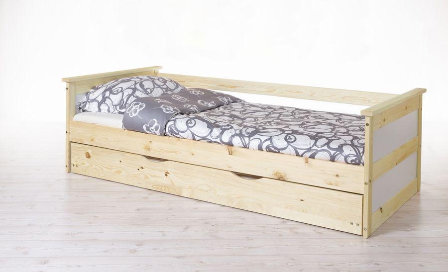 Sofabett mit Auszug  Theodor  Kiefer geölt