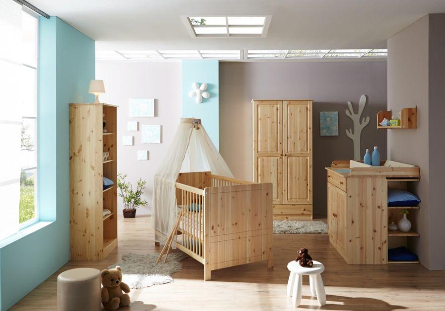 Babyzimmer  Moritz  5-teilig Kiefer Natur