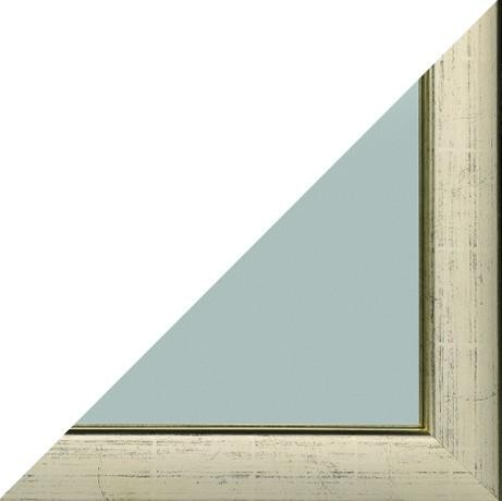 Rahmensiegel Alino Spiegelprofi goldfarben 52x142 cm T2cm