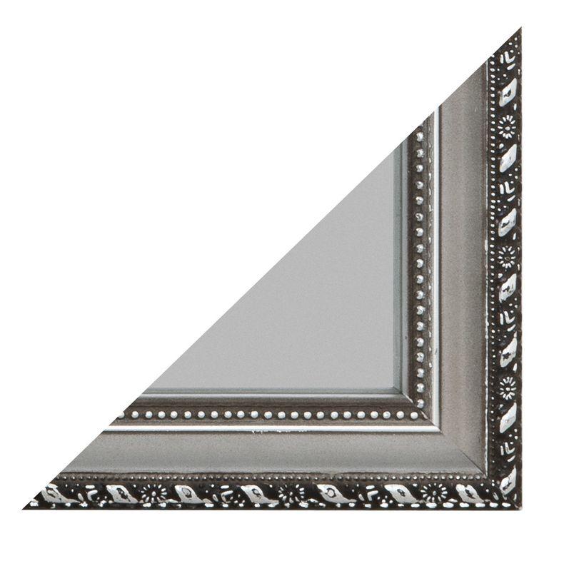 Rahmenspiegel Lisa Spiegelprofi silberfarben 35x125 cm T2cm inkl. Aufhänger