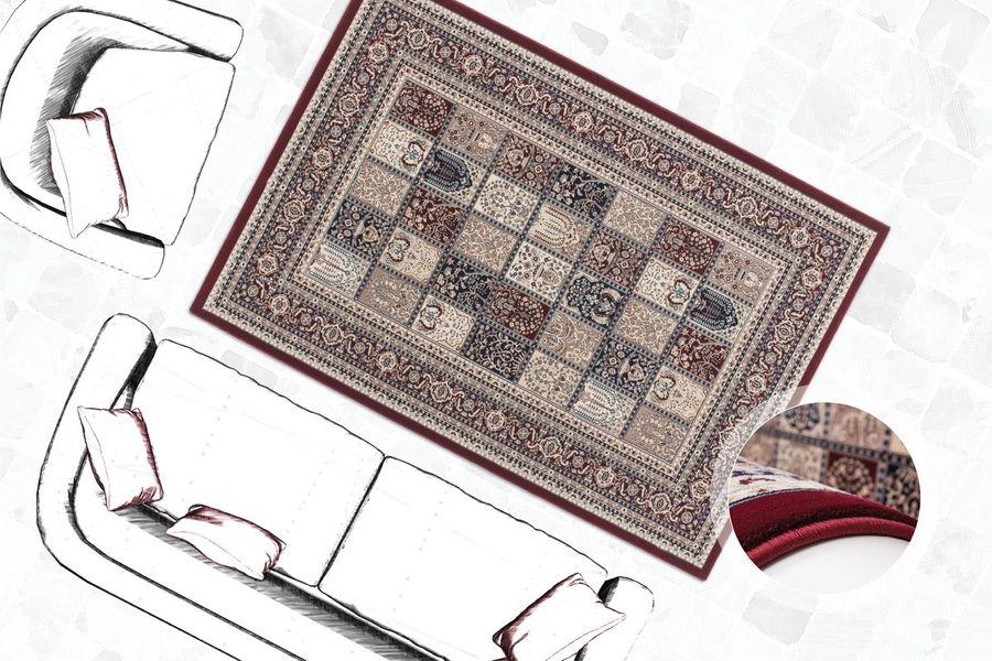 Tunisia - Ariana Rot,Rot,160cm x 230cm – Bild 2