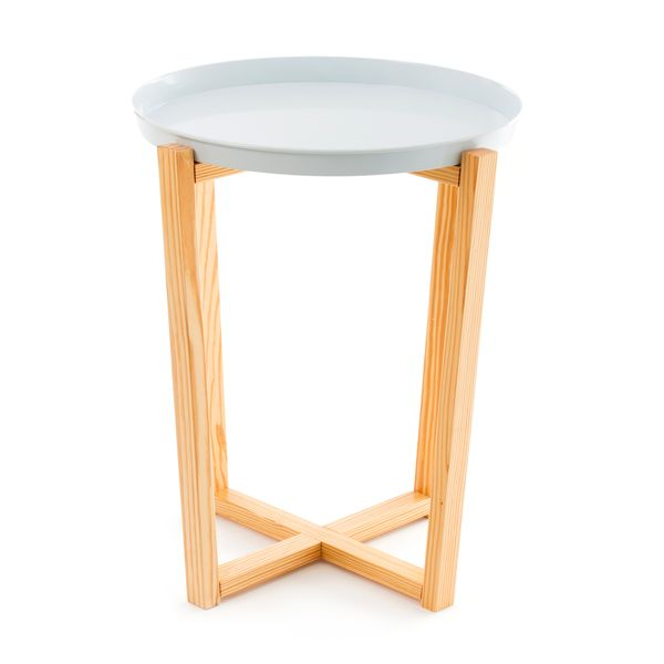 Side Table Lloyd white – Bild 1