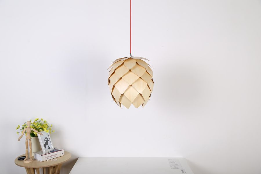 Pinecone Chandelier