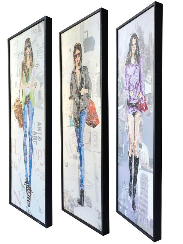 Papier Wandbild Runway I (3-teilig) 96cm x 92cm – Bild 5