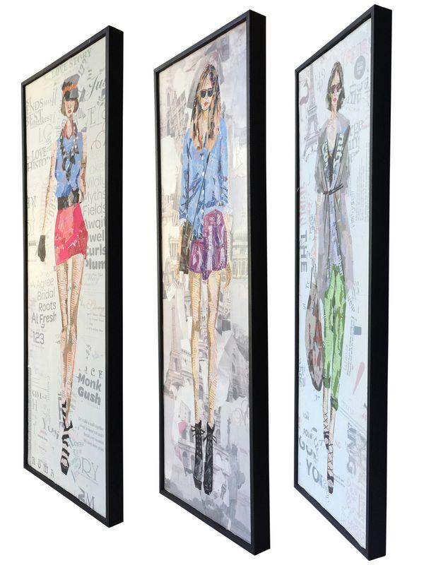 Papier Wandbild Runway II (3-teilig) 96cm x 92cm – Bild 5