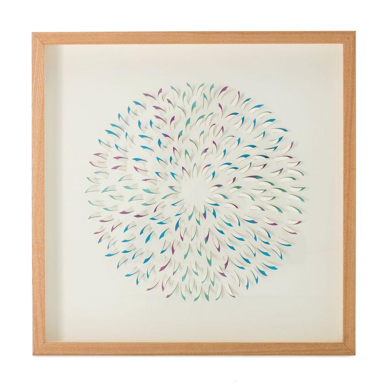 Bilder Papierkunst Circle II 60cm x 60cm – Bild 1
