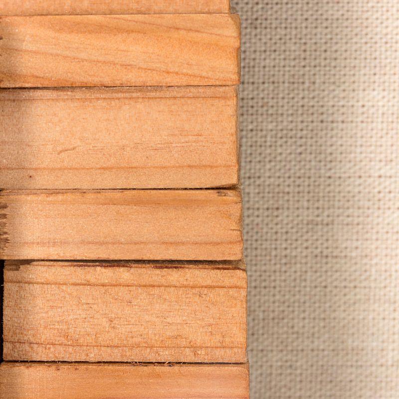 Bilder Holzkunst Carré I 60cm x 60cm – Bild 3