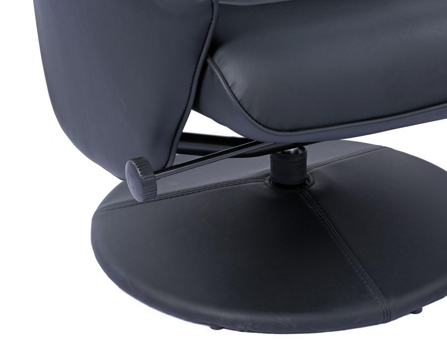 Sessel Leandra 160 Schwarz – Bild 2