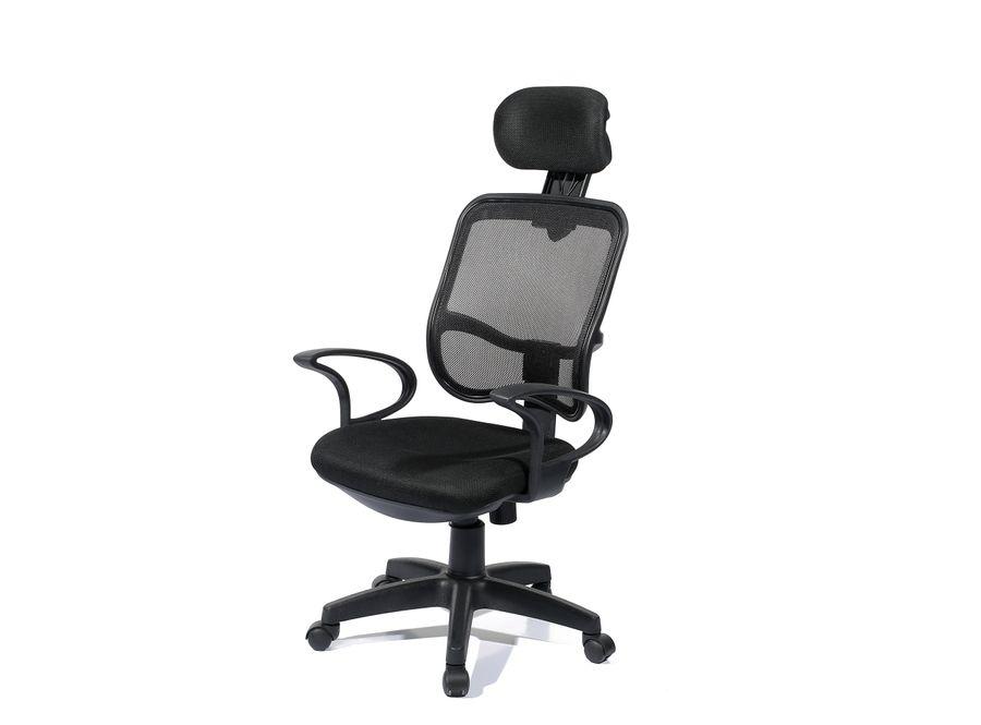 Bürostuhl Bendix 190 Schwarz – Bild 1