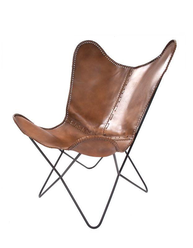 Schmetterling Stuhl Juan 324 Grünlich – Bild 1