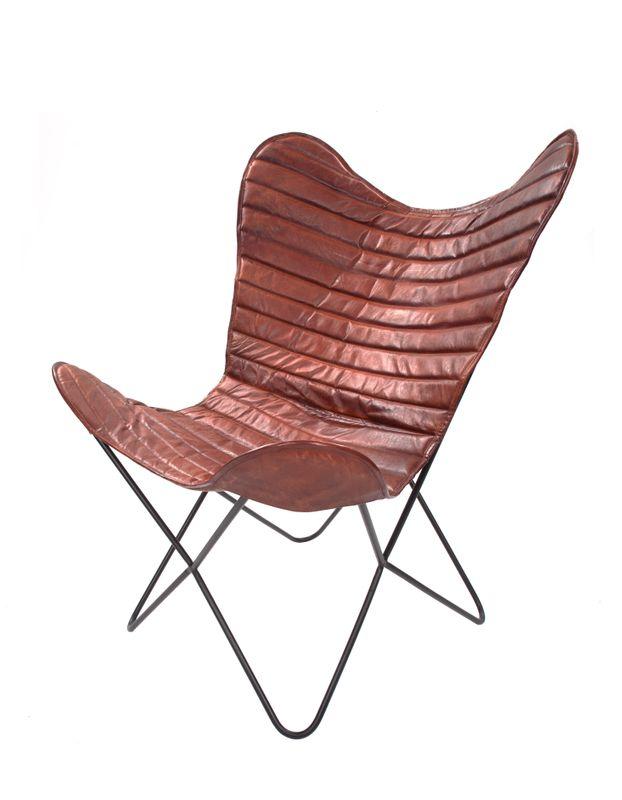 Schmetterling Stuhl Santiago 327 Kirschrot – Bild 1