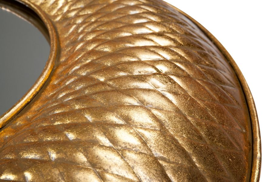 Metall Wandspiegel Cleo 290 Gold – Bild 3