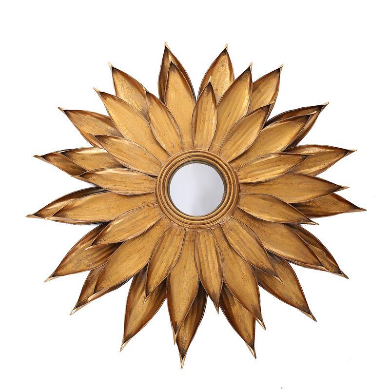 Metall Wandspiegel Lidia 101 Gold – Bild 1