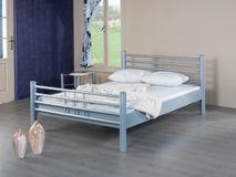 Modernes Metallbett LEA 1012 - 120 x 200 - weiß