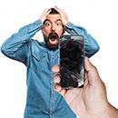 Displayschutz für Handy und Tablet