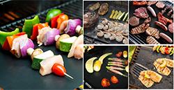 Grillmatte für Gemüsse, Fisch, Gepflügel oder Fleisch