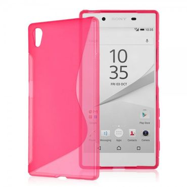 Sony Xperia Z5 rutschfestes Mobilecover Pink