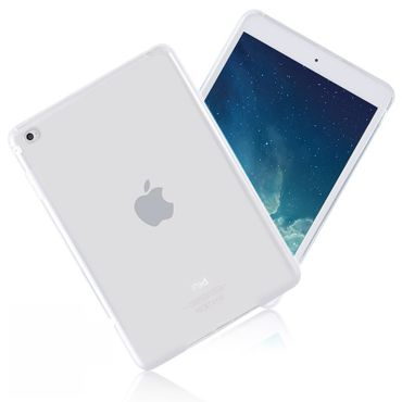 Apple iPad mini 4 LTE leichte Silicon Cover Opal Weiss