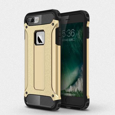 iPhone 7 Plus Hybrid Hardcase Gold