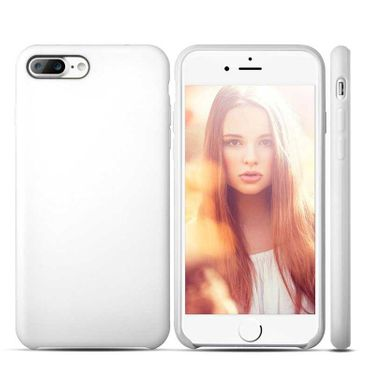 iPhone 7 Plus Case Anti Fingerabdruck Weiss