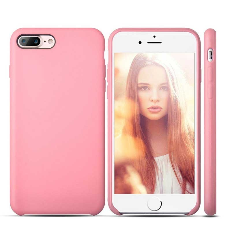 iPhone 7 Plus Case Anti Fingerabdruck Pink