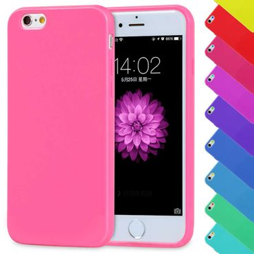 iPhone 7 Plus Candy Crush Silikon Gummihülle Cover Pink