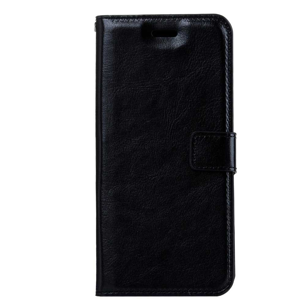 iPhone 7 Plus Flip Etui Handyhülle Cover Schwarze