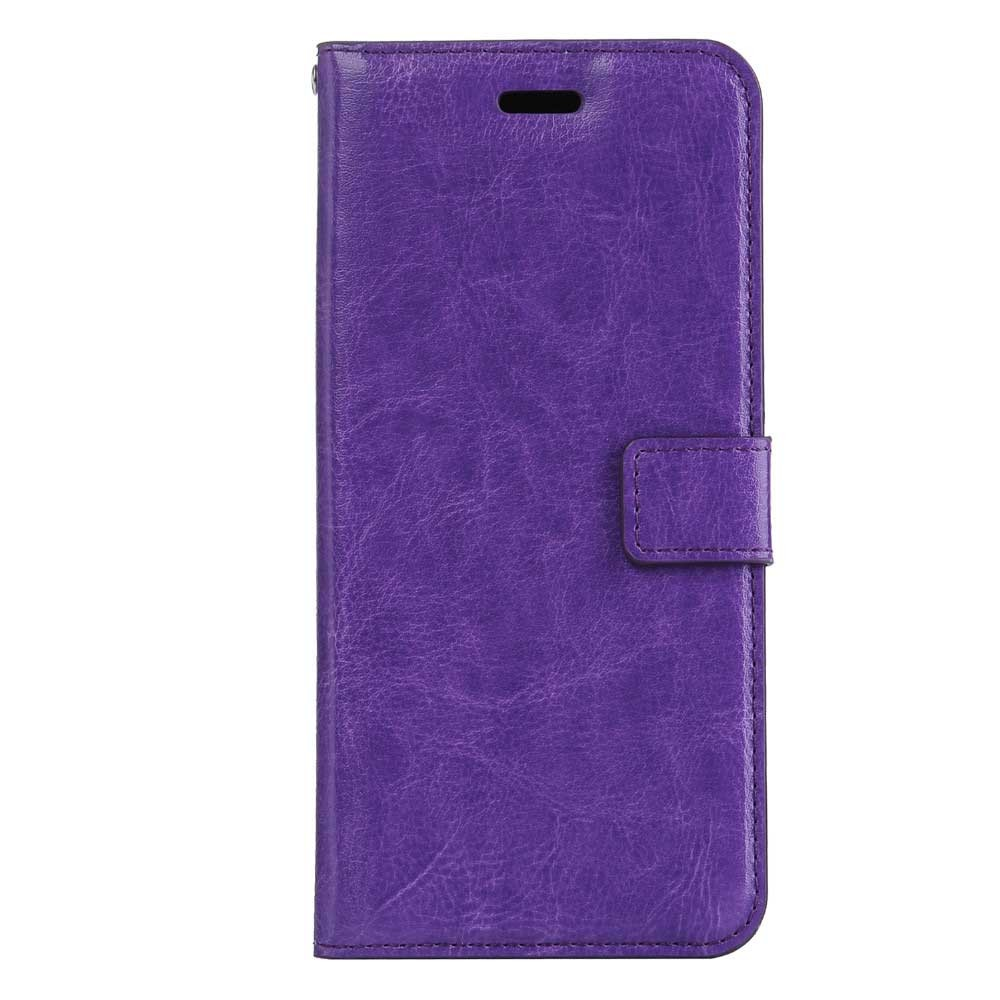 iPhone 7 Plus Flip Etui Handyhülle Cover Lila