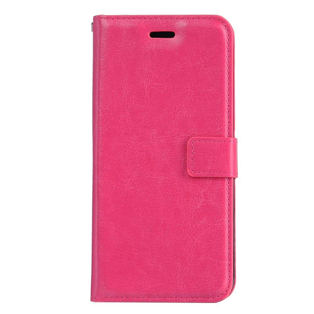 iPhone 7 Plus Flip Etui Handyhülle Cover Pink