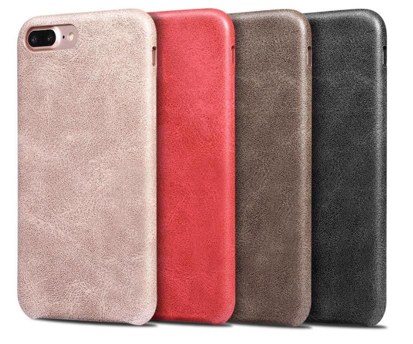 Ledercover Apple iPhone 8 Plus beige