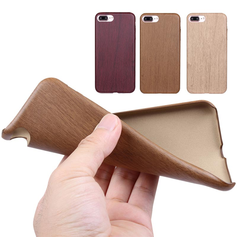 iPhone 8 Plus Holzcase mit Holzlook