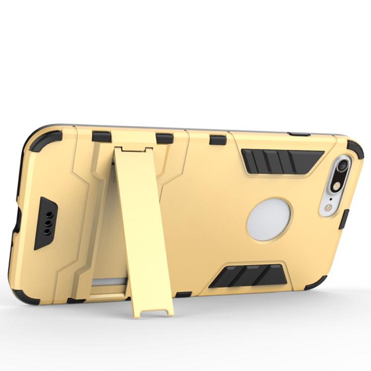 Kickstand Hybrid Gummi Handyhülle iPhone 7 Plus