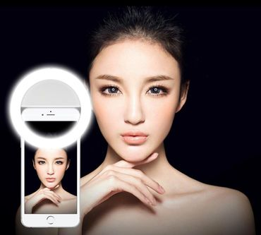 Sony Xperia Smartphone Selfies Light LED Beleuchtung Licht Lampe