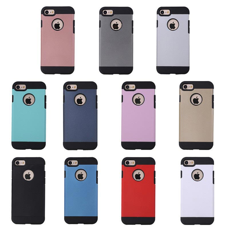 shockproof robustes Hartcover Apple iPhone 7 hellblau